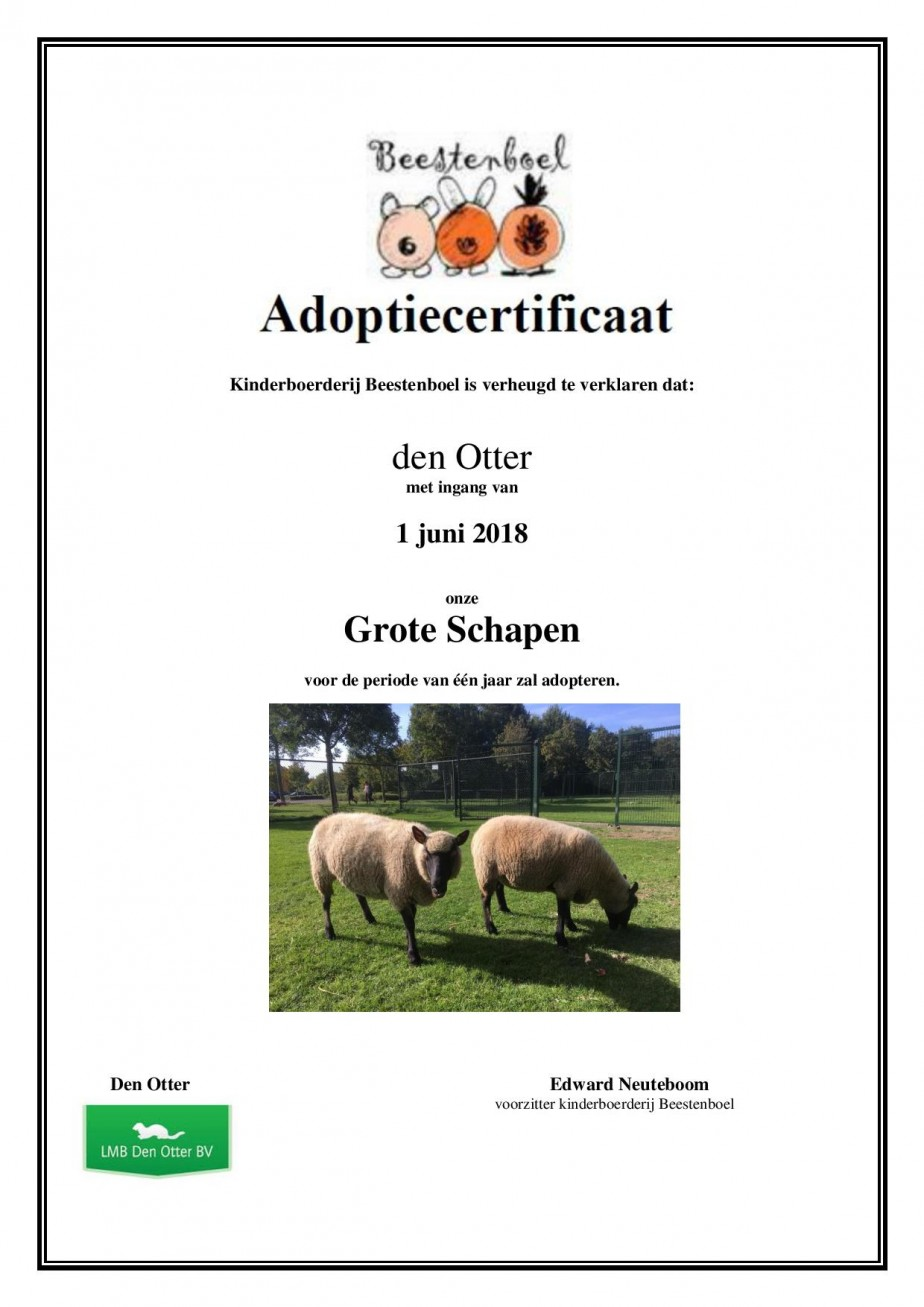 Kinderboerderij adoptiecertificaat Grote Schapen-page-001